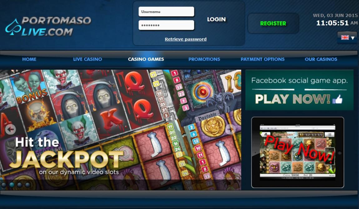 Portomaso Live Casino